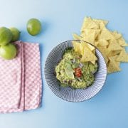 easy guacamole in a bowl
