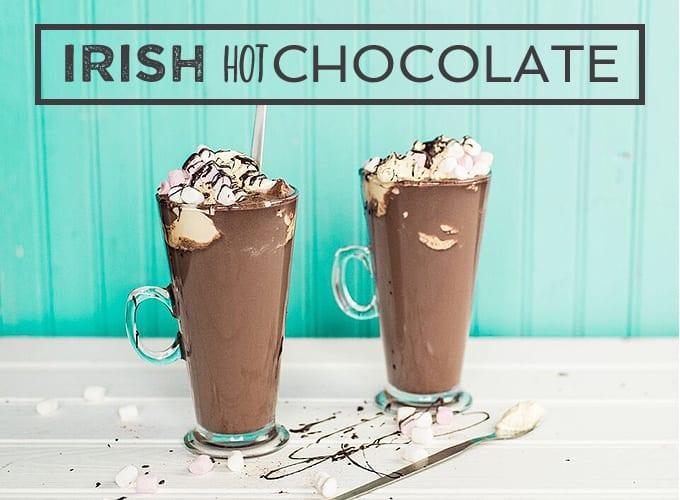 Irish hot chocolate recipe