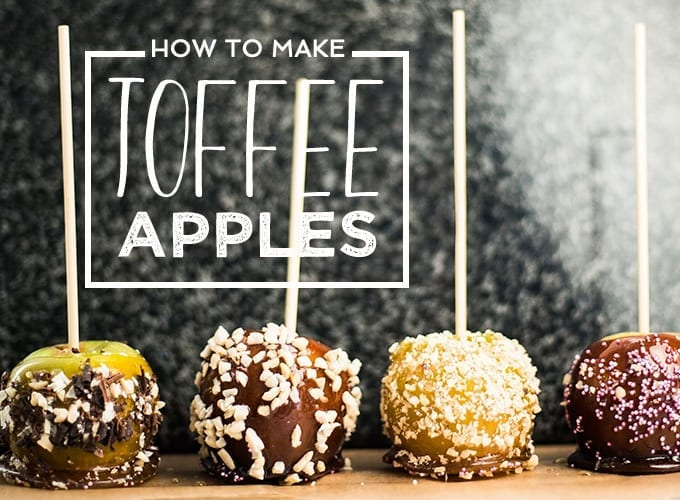 how to make toffee apples