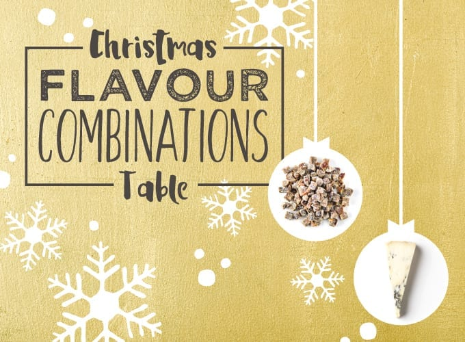 Christmas Flavour Combinations Table