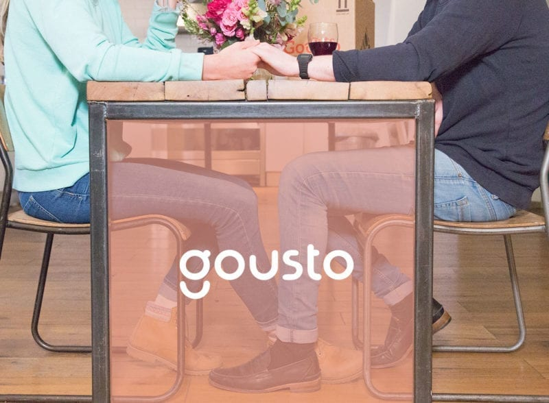 gousto recipe for romance