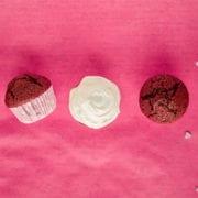 red velvet valentine's cupcakes