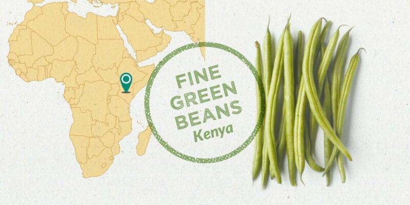 kenyan fine green beans ingredient