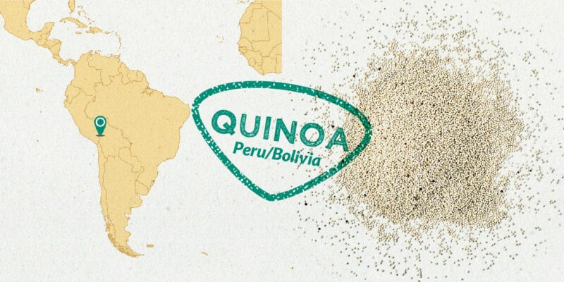 quinoa gousto ingredient