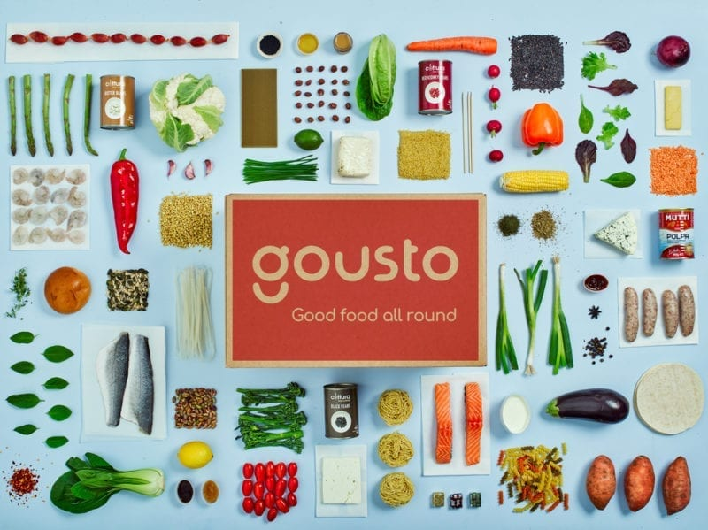 Gousto food box