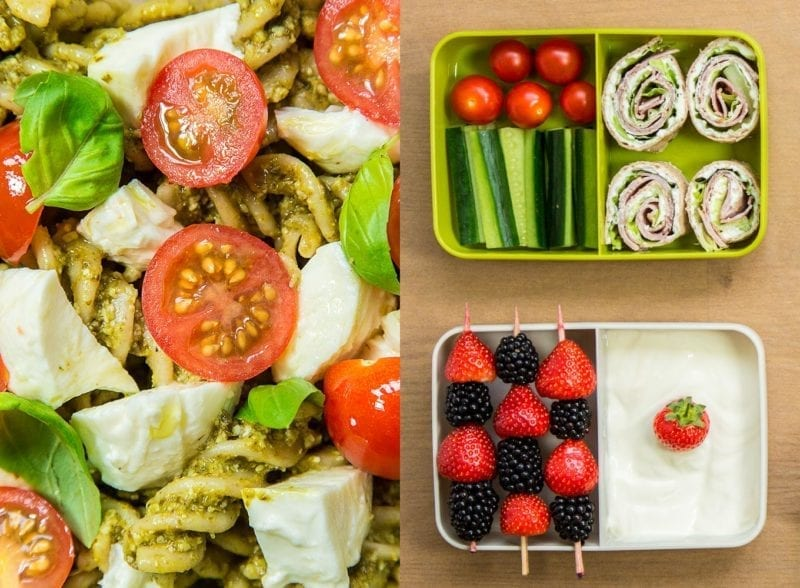 healthy lunch box ideas - easy tips for packed lunches | gousto blog