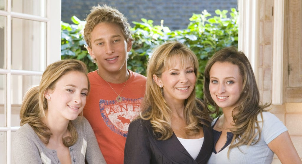 Annabel Karmel and family