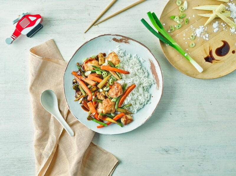 Annabel Karmel's Sweet 'N' Sour Chicken recipe