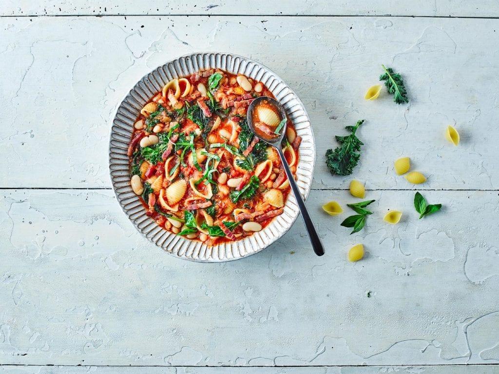 Gousto's One Pot Pancetta Minestrone recipe