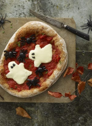 annabel karmel's ghoulish ghost pizza