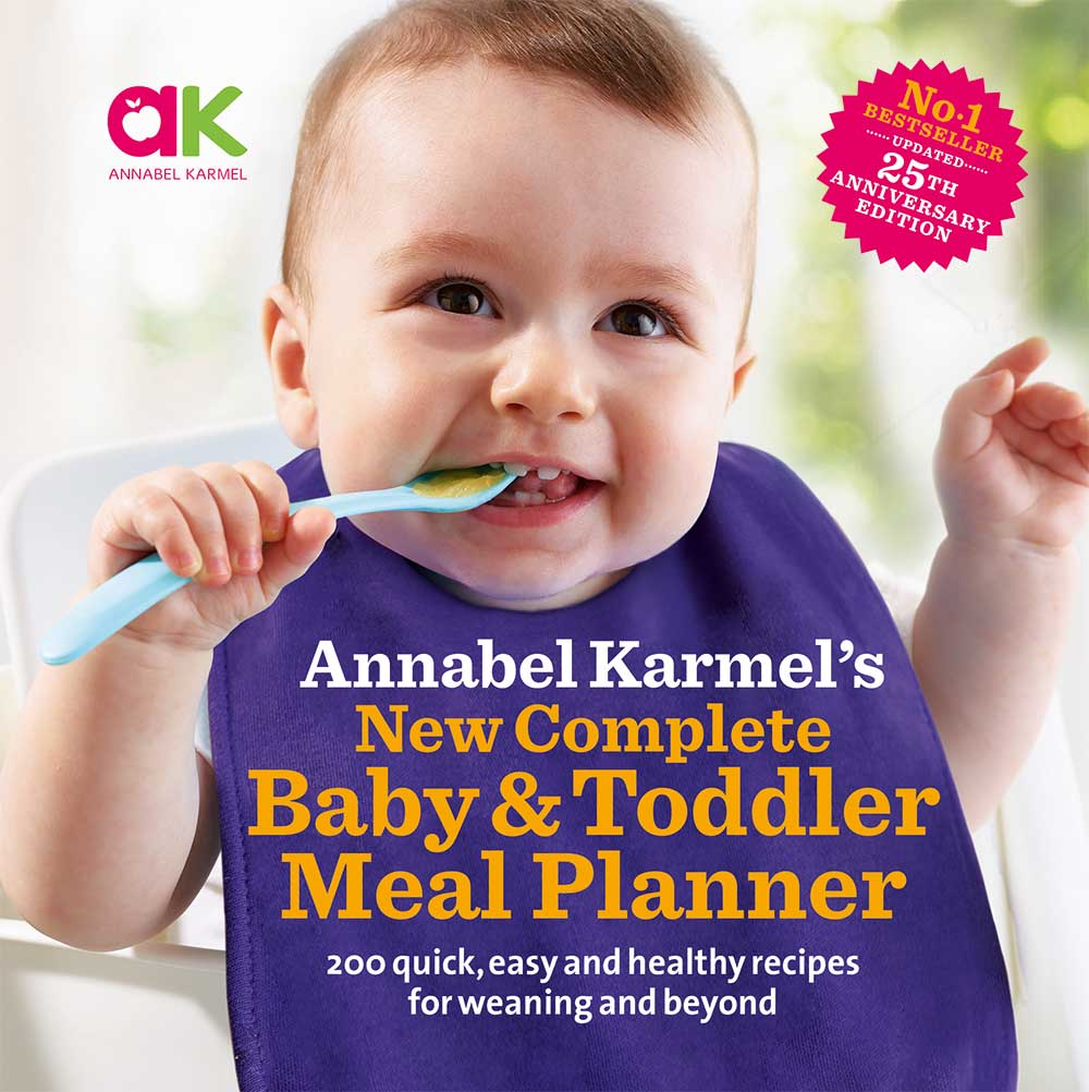 complete baby and toddler meal planner