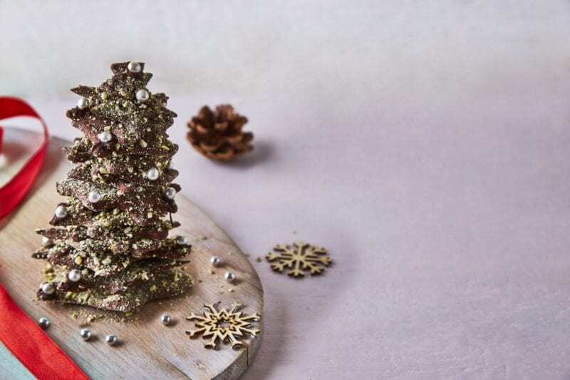 homemade chocolate Christmas tree recipe