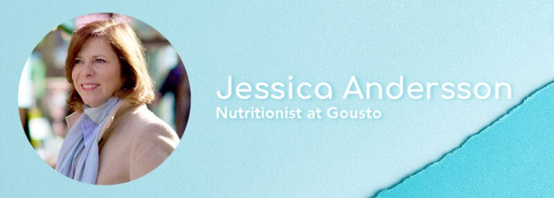 jessica nutritionist gousto bio