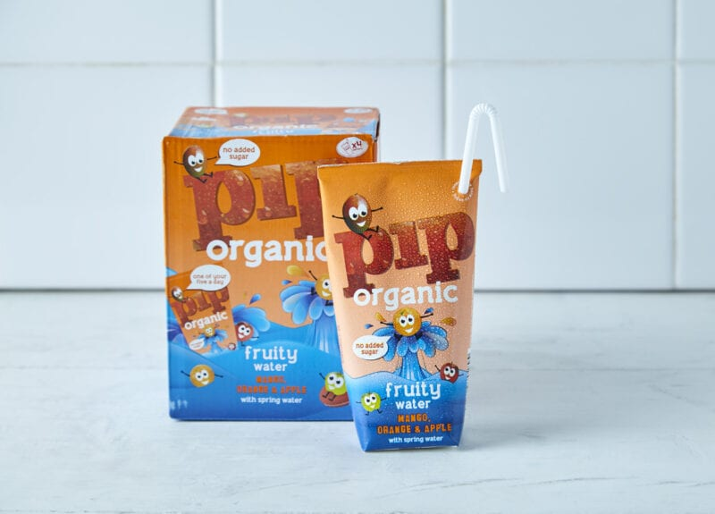 Pip Organic Apple, Mango & Orange Fruity Water