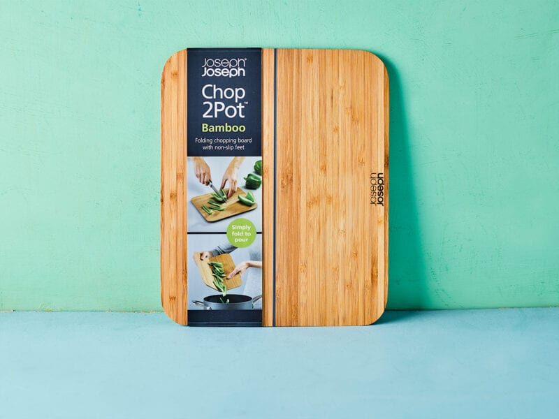 Joseph Joseph Chop2Pot Bamboo Chopping Board