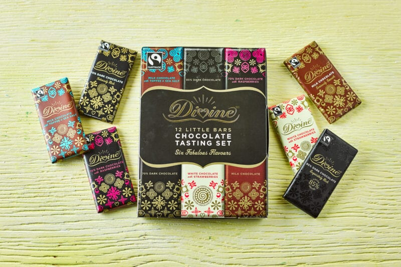 Divine Little Bars Chocolate Tasting Set