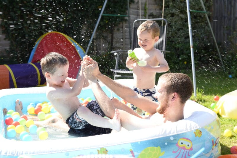 kids paddling pool