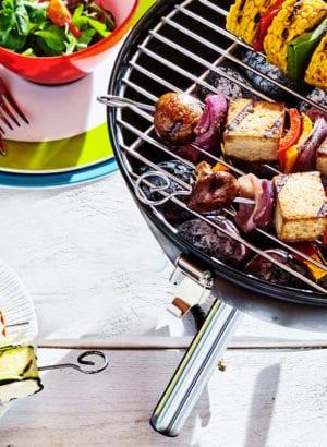 A delicious vegan barbeque