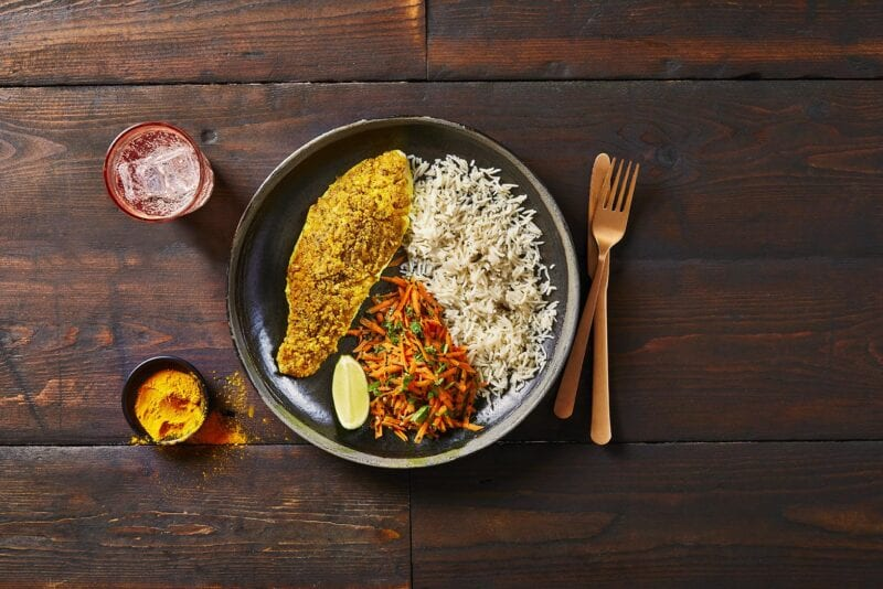 Bengali Mustard Fish with Fragrant Rice