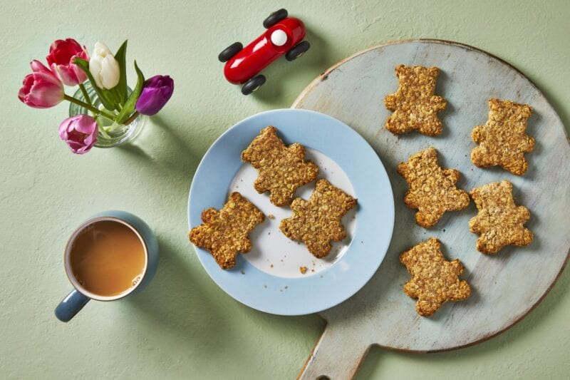 Mother's Day oat cakes
