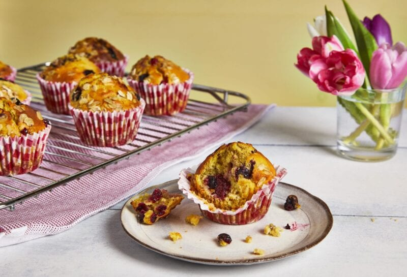 Mother's Day muffins