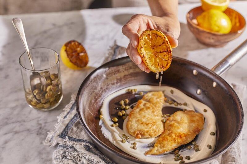 Gousto Venetian Chicken Scaloppine with Green Beans