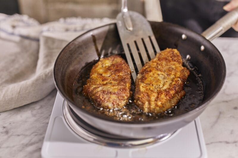 Italy Milanese steak