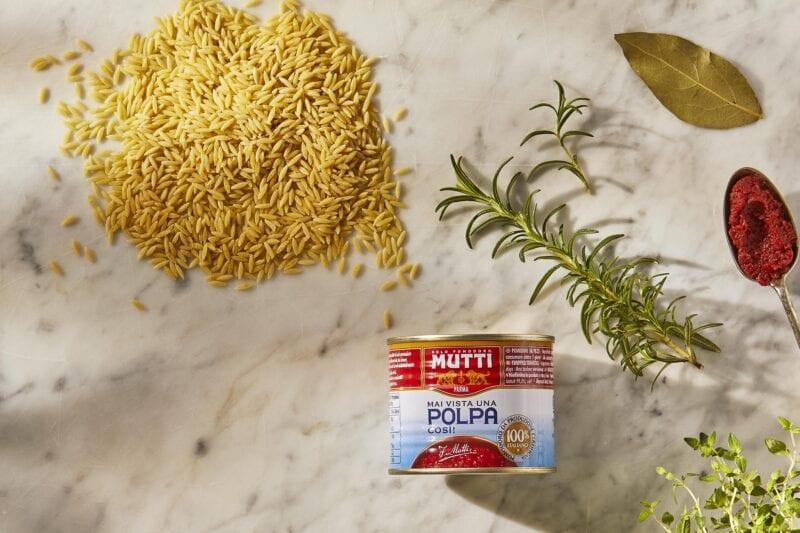 Gousto Italian pasta orzo