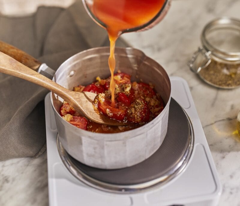 Gousto Amatriciana Spaghetti with Bacon