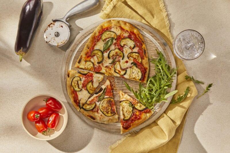 Gousto Roman Pizza Parmigiana With Aubergine