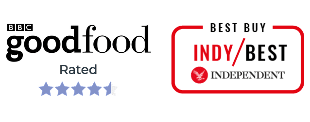 BBCGoodfood and IndyBestBuy testimonials