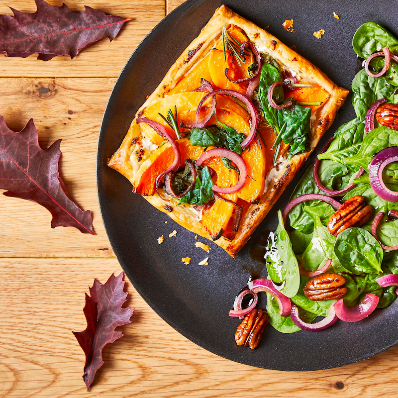 Butternut Squash and Goat's Cheese Tart
