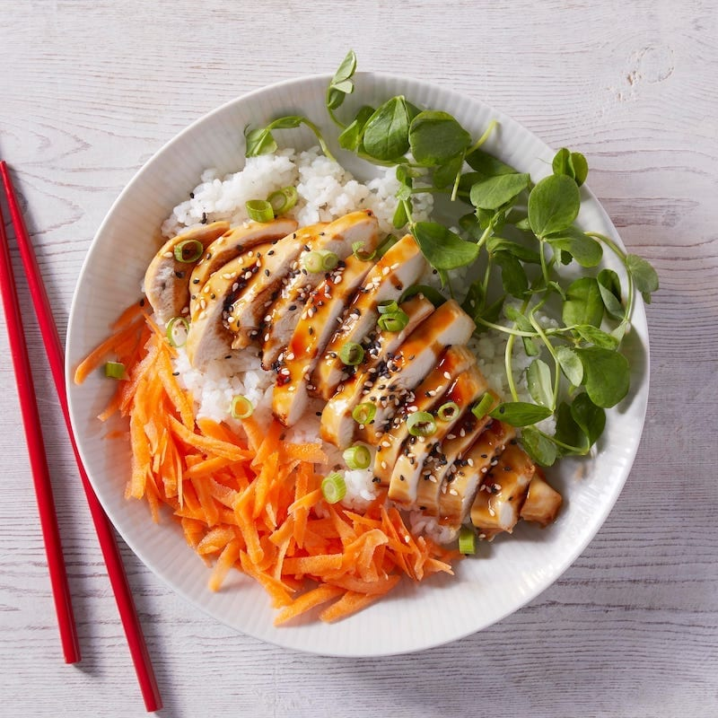 Gousto wagamama Chicken Teriyaki Donburi Bowl