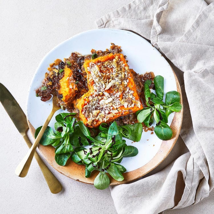 Moroccan Spiced Lamb Shepherds Pie