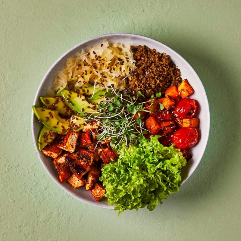 Gousto buddha bowl photo