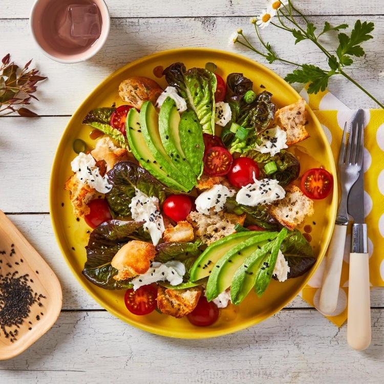 Aussie Mozzarella Avocado Sesame Salad Gousto