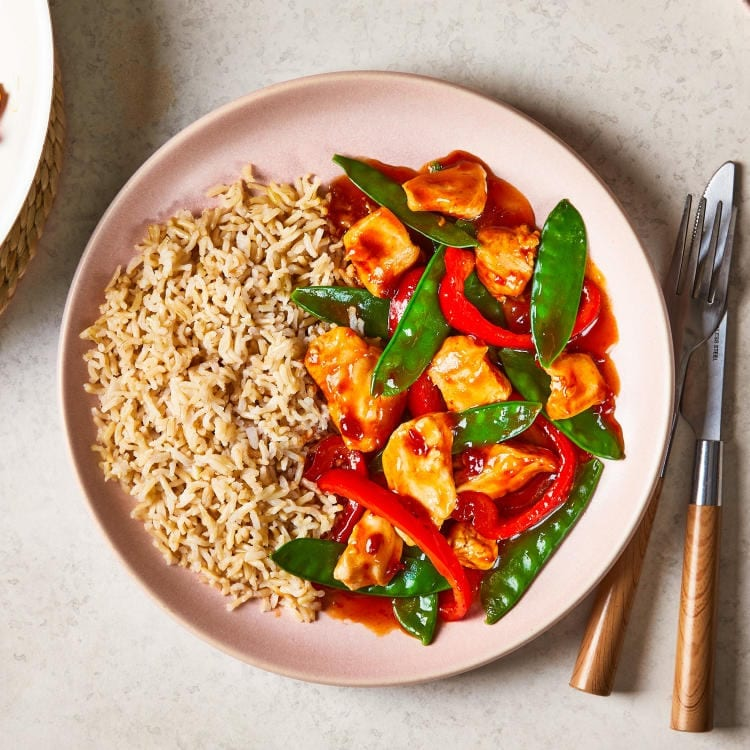 10 minute speedy sweet and sour chicken Gousto