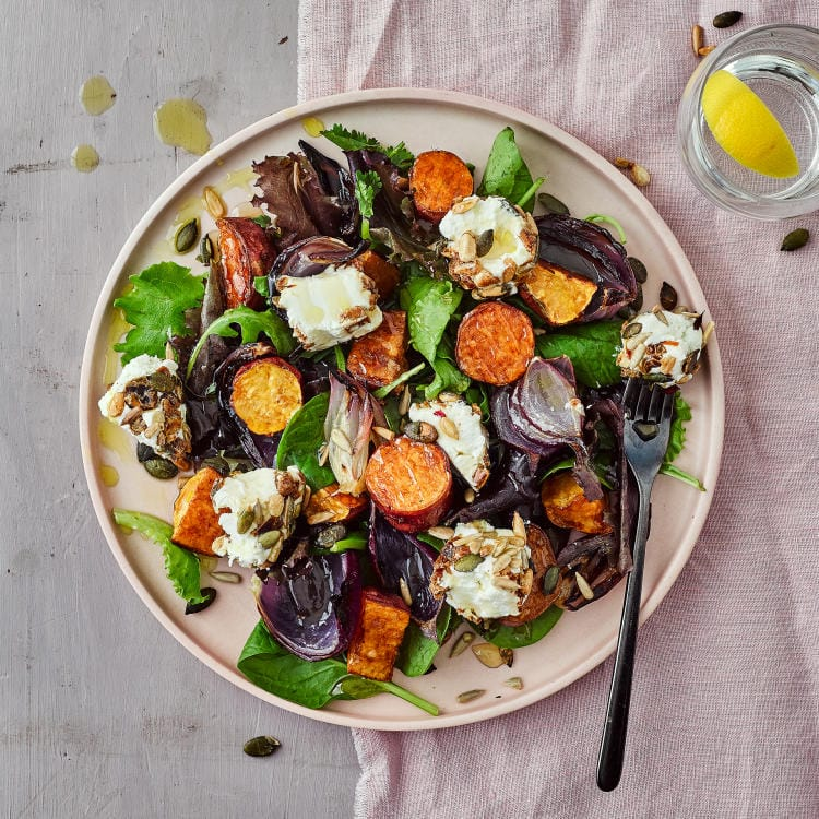Seeded Nutty Goats Cheese Salad Gousto