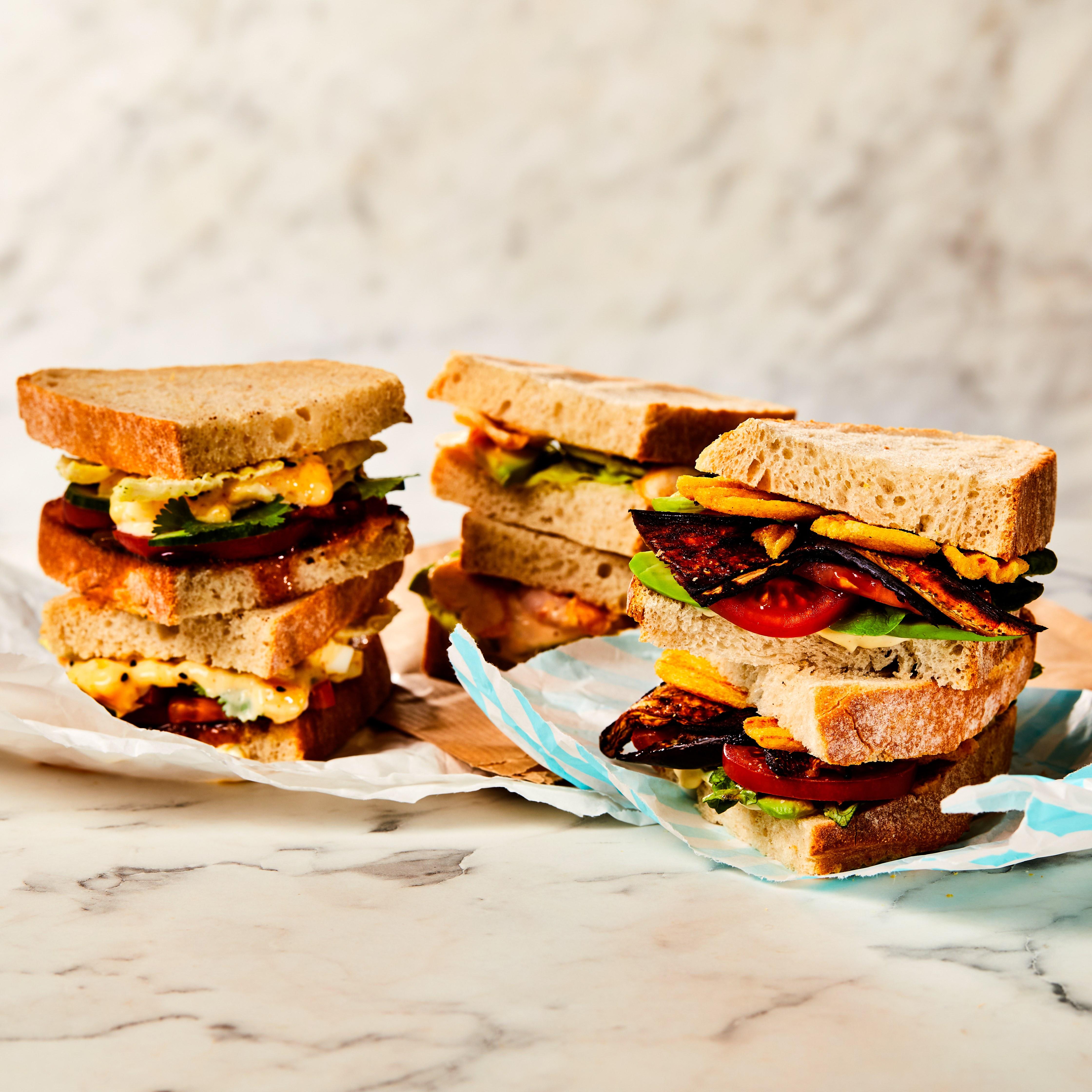Crisp sandwiches